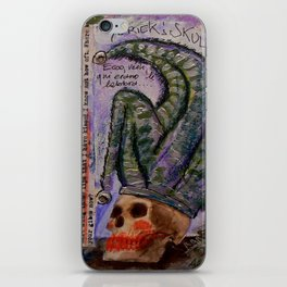 ALAS POOR YORICK iPhone Skin