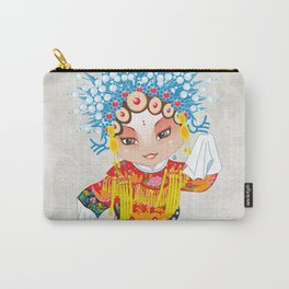 Beijing Opera Character SunShangXiang Carry-All Pouch