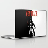 scarface Laptop & iPad Skins featuring Ventface by Diego Farias