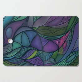 Flow of Time Cutting Board