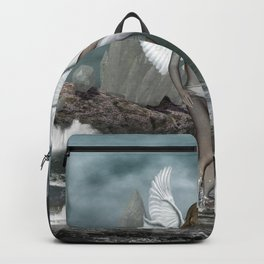 Beautiful fairy in the dreamworld Backpack