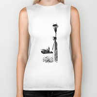 venice Biker Tanks featuring Venice by Mary Koliva