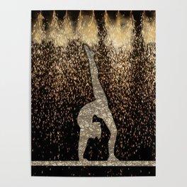 Sparkle Gymnast Poster