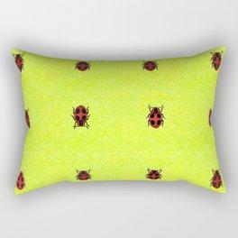 Ladybird March Rectangular Pillow