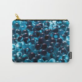 Blue Marbles Carry-All Pouch