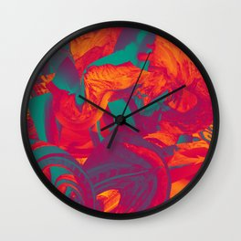 Astral Plane Wall Clock