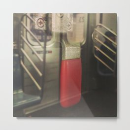 Pull the Lever Metal Print
