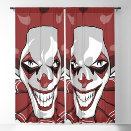 Clown Wicked Common Came creepy horror gift Blackout Curtain
