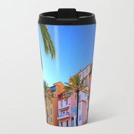 Colorful and Cool Menton Travel Mug