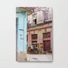 Cuba III Metal Print