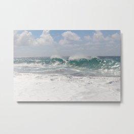 Morning waves Metal Print