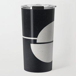 #007 Black Travel Mug