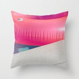 Floatie Throw Pillow