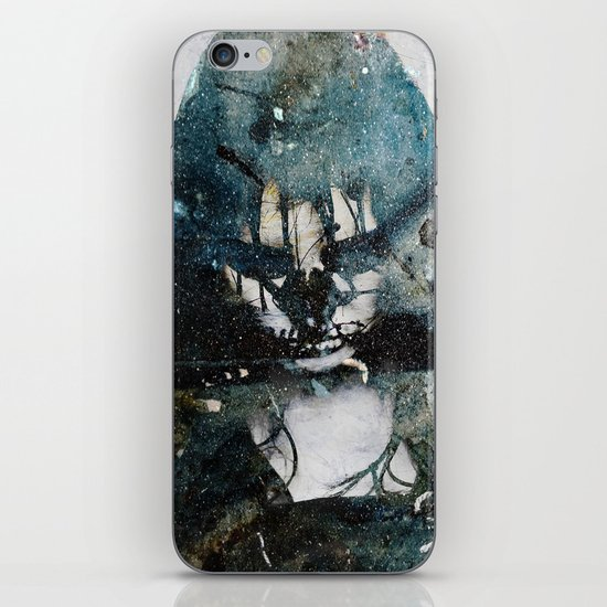 Tousled bird mad girl 2 iPhone & iPod Skin