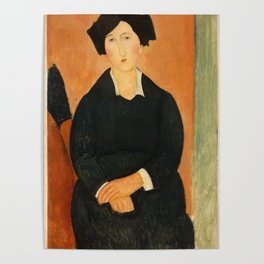 "Amedeo Modigliani ""The Italian Woman"" Poster"