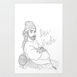 Dev Dude Art Print