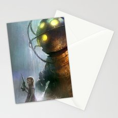 Mr Bubbles strolling  Stationery Cards