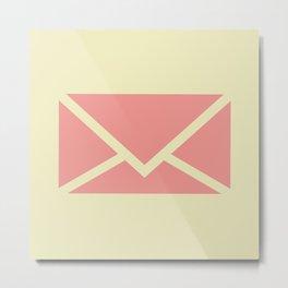 envelope Metal Print