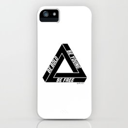 Penrose Triangle iPhone Case