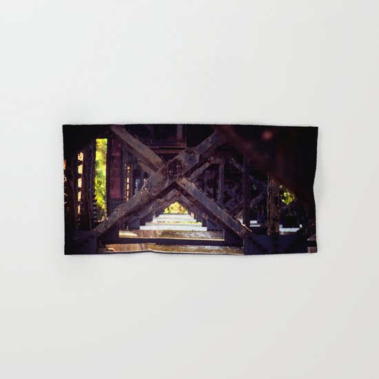 Rusty Bridge Hand & Bath Towel