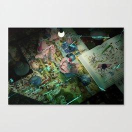 Making of Paradises Canvas Print