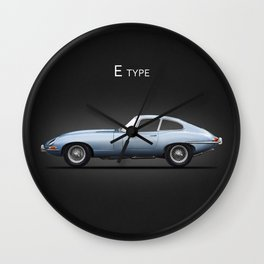 The E-Type Wall Clock