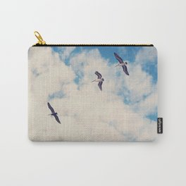 Flying Over Seas Carry-All Pouch
