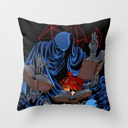 Dungeons, Dice and Dragons - The Dungeon Master Throw Pillow