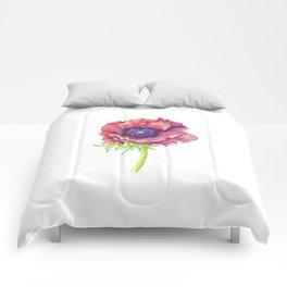 Floral Graphic Design Elements Comforters