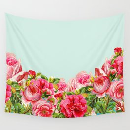 Summer Floral Wall Tapestry