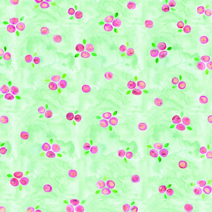 Roses Pattern 01 Duvet Cover