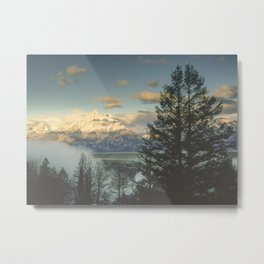 grand teton high country sunrise Metal Print