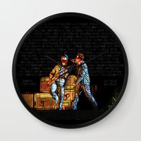 u2 Wall Clocks featuring U2 / Bono / Edge / Until The End Of The World by JR van Kampen