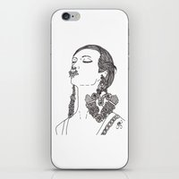givenchy iPhone & iPod Skins featuring Givenchy by Grace Ban