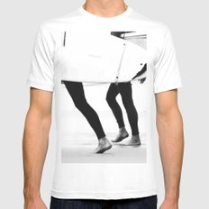 catch a wave MEDIUM Mens Fitted Tee White