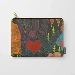To Have Your Heart In My Hand Carry-All Pouch