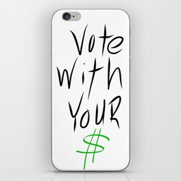 vote iPhone Skin