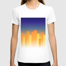 Simple City Sunset T-shirt
