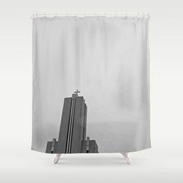 Laugarneskirkja Shower Curtain