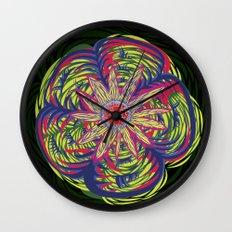 Peyote Wall Clock