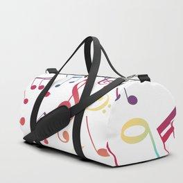 Musical Notes 5 Duffle Bag