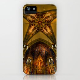 Cathedral Of The Madeleine 2 - Utah iPhone Case