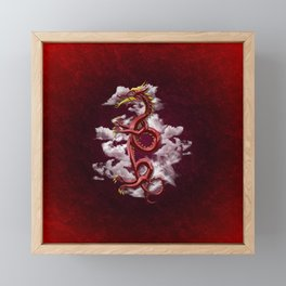 Oriental Dragon Framed Mini Art Print