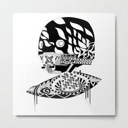 Killer Robot Metal Print