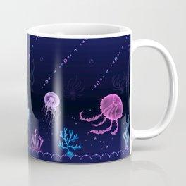 Jellyfish Bubble Sea Coffee Mug