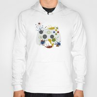 xbox Hoodies featuring Controller Graffitti XBOX by AngoldArts