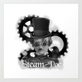 Steam-Poe Art Print