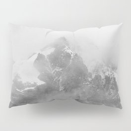 Rocky Mountain Fog B&W Pillow Sham