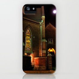 Stained Glass Starry Night iPhone Case