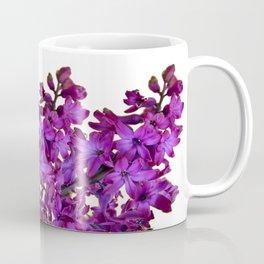 """Purple Hyacinth"" Garden Queen Floras Coffee Mug"